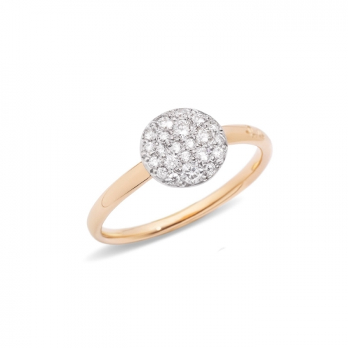 LLATO NUDO ™ Luxury Style Fashion Rose Gold Plated Zircon Ring